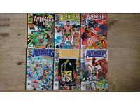 Bundle of 38 avengers comics