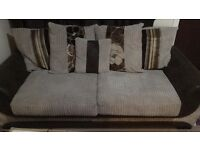 Kirk 3 seater scatter back sofa from SCS