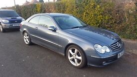 MERCEDES CLK 270CDI 67 000 miles ONLY