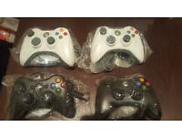 BRAND NEW WIRED XBOX 360 CONTROLLERS £15 EACH OR TWO FOR £25