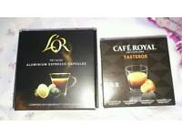Coffee pods with money off