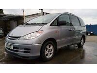 2001 | Toyota Previa CDX 2.4 VVTI | 1 FORMER KEEPER | LEATHER SEATS | SUNROOF | REAR PARKING SENSORS