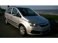 07 VAUXHALL ZAFIRA 1.8 LIFE 7 SEATER**91,000 MILES**LOTS OF SERVICE HISTORY**6 MONTHS M.O.T.**