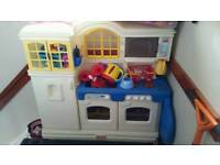 Large Little tikes play kitchen with lots of accessories