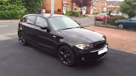 2010 BMW 1 SERIES 116i 2.0 SPORT UPGRADED SPEC TINTED WINDOWS COLOUR CODED ALLOY & M SPORT BUMPER