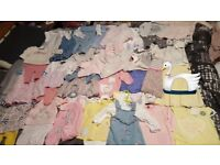 Very large bundle of baby girl clothes