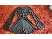 Black size10 play suits
