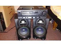 AIWA Amp/Philips Speakers