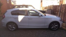 Nice 2010 white Bmw series 1 , MOT November 2018, low mileage,full service done last month,
