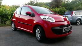 Sold sold sold Citroen C1 Rhythm 3 Door in Red 2008 (08)