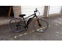 """Carerra Crossfire E electric Hybrid bicycle """"Reduced"""" now £829ono"""