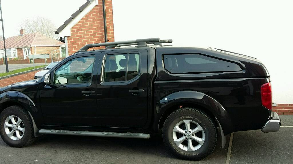 nissan navara d40 sloping hard top canopy in wallsend tyne and wear gumtree. Black Bedroom Furniture Sets. Home Design Ideas