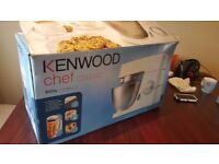 Kenwood Chef Km336 + Liquidiser, Boxed with Instructions rrp £390