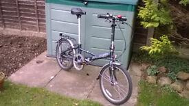 "20"" Wheel 6-speed folding cycle"