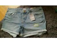 Brand new with tags dorothy perkins shorts 3 pair