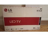 Brand new LG 32 inch LED TV for sale (box not even opened)