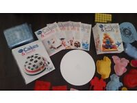 Disney Cakes and Sweets magazines and accessories