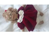 PANRE doll - soft-bodied collectable Spanish doll.