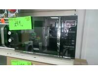Combination microwave oven Black