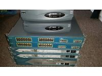 Cisco CCNA / CCNP Complete LAB Cisco Routers / Switches with all wires