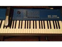 Oberheim MC1000 88 key weighted midi keyboard digital piano