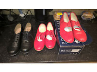red tap shoes size 5