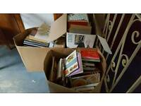 Job lot books approx 300 at a guess assorted car boot resale