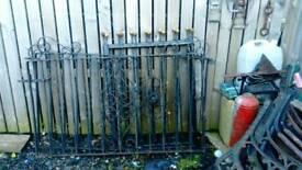2 x sets of gates