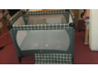 BABY TRAVEL COT FOLDABLE FREE DELIVERY