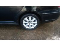Toyota Avensis 16 inch alloy wheels and tyres £200