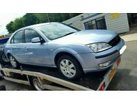 BREAKING!! 2007 Ford mondeo TDCI