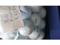 30 pinnacle exception golf balls