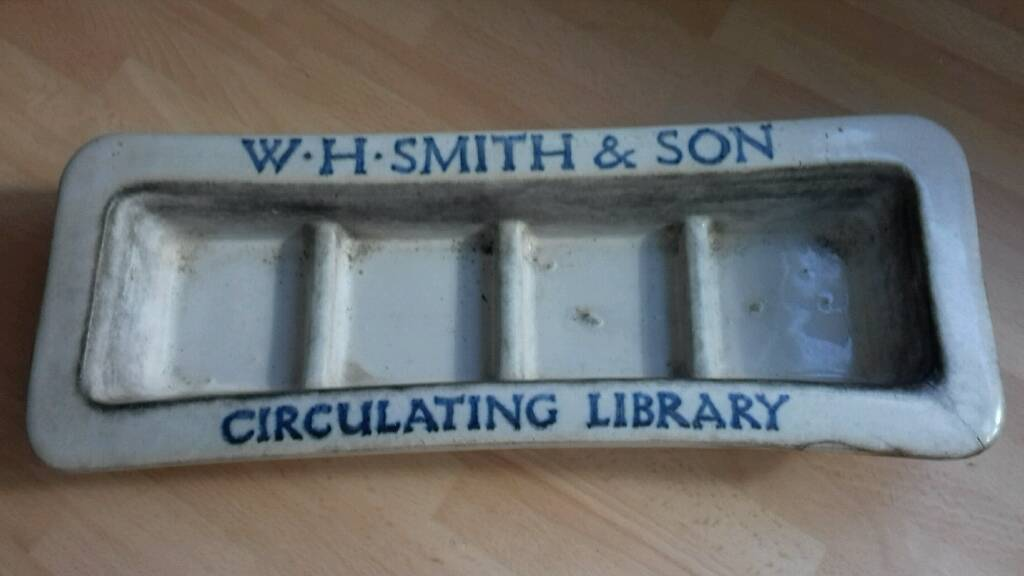W.H. Smith Circulating Library Ink stand