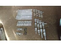 Gate Hinges Hook Plate and Bolts