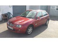 Rover 25 1.4 petrol new mot