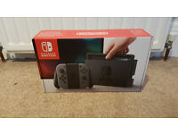 Nintendo Switch Console BRAND NEW & SEALED - Grey