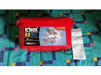 Brand new and sealed K'NEX 52 model building set. Made in USA