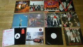 10 x big audio dynamite vinyl collection - promos / sealed / LP's / 12&quot