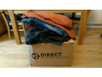 Huge massive box bundle collection of mens clothing small and medium