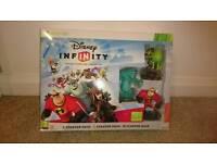 Xbox 360 Disney infinity starter set plus two extra figures