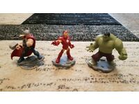 Playstation 3 - Marvel Disney Infinity 2.0 Figures - PS3
