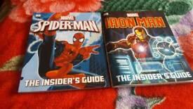 Marvel iron/ spider man