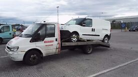 car recovery 24/7 Nationwide uk and any europe union countries leeds bradford manchester sheffield