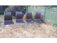 Dining chairs 4x