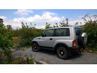 Ssangyong Korando. Excellent tow vehicle. 2.3 Mercedes engine.