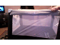 travel cot new taken out box for picture