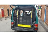 Tailgate wheel chair lift to fit any pannel van. 2 passenger seats. Open to offers as need gone asap