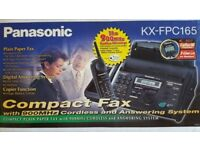 Panasonic KX-FPC165 Fax with cordless phone