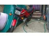 Honda cg 125 learner legal 12 months mot ride / drive away bargain