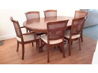 Willis and Gambier Lille range Dining Table and Chairs
